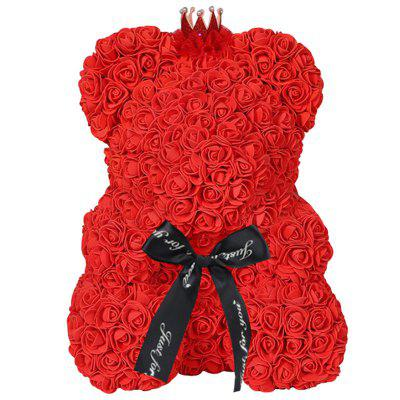 Rose Bear Home Decoration Valentine Day Gift