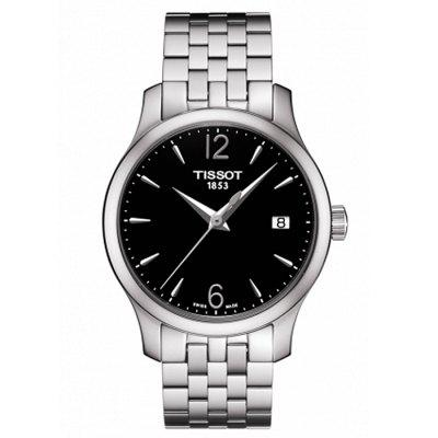 TISSOT Fashion Quartz Watch with Steel Band for Women