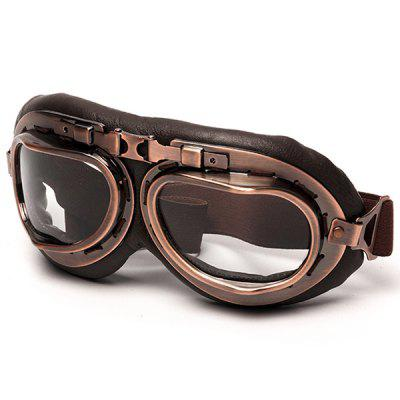 Steampunk Glasses Motorcycle Flying Safety Goggles
