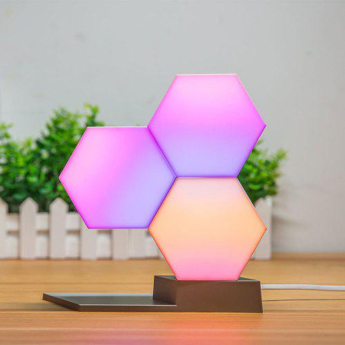 Lifesmart Creative Geometry Shape Assembly Night Lamp for Home