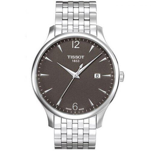 TISSOT Classic Stylish Quartz Watch with Stainless Steel Band for Men