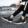 Outdoor Light Trainers Flying Woven Mesh Shoes for Men - GRAY CLOUD