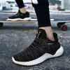 Outdoor Light Trainers Flying Woven Mesh Shoes for Men - NUVOLA GRIGIA