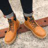 Male Outdoor Casual Tooling Boots - BROWN