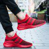 Flying Woven Breathable Mesh Men's Sneaker - RED