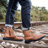 7585 Trendy Fashion Comfortable Men Boots - BROWN