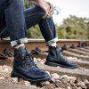 7585 Trendy Fashion Comfortable Men Boots - BLACK