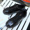 Waterproof Tide Breathable Black Casual Shoes - BLACK