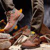 Large Size High Outdoor Men's Boots - LIGHT BROWN