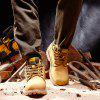 Large Size High Outdoor Men's Boots - GOLDEN BROWN