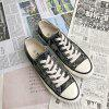 Low Cut Fashion Personality Tide Canvas Shoes - MULTI-C