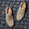 Man Outdoor Casual Tooling Military Shoes - LIGHT KHAKI