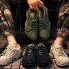Man Outdoor Casual Tooling Military Shoes - BLACK