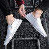 Men Casual Personality Social Guy Lazy Beanie Tide Shoes - WHITE