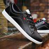 Men's Solid Color Wild Casual Shoes - BLACK