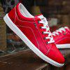 Men's Solid Color Wild Casual Shoes - RED