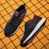 Men's Sneakers Autumn Breathable Casual Large Size - RED