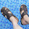 Large Size Summer Men's Slipper - DEEP BROWN