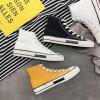 YHa65 High Canvas Classic Fashion Casual Shoes - WHITE