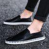 Men Casual Personality Social Guy Lazy Beanie Tide Shoes - BLACK
