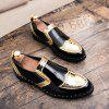Simple Men's Business Shoes - GOLD
