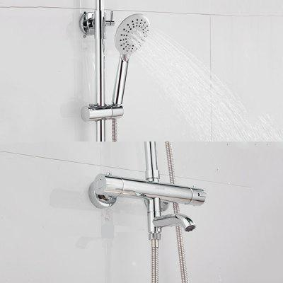 BATHINF YC1061 Outlet Copper Main Body Thermostatic Shower Set