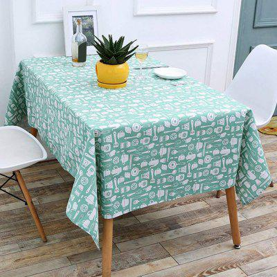 140 x 180cm Household Fresh Rectangular Tablecloth