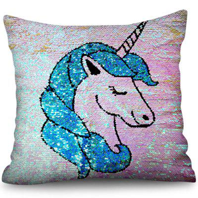 Unicorn 3D Digital Printing Polyester Pillowcase Square Sofa Cushion Cover