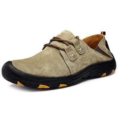 Männer Outdoor Lace Up Anti-Rutsch Wanderschuhe