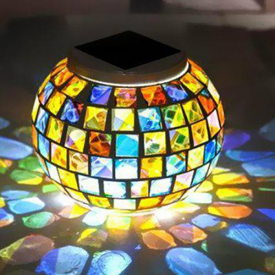 Creative Solar Lawn Lamp for Outdoor Use