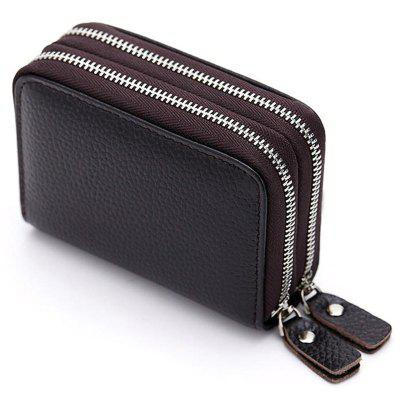 Fashion Genuine Leather Id Credit Card Money Holder Case Wallet