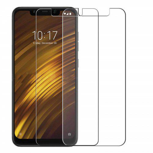 Tempered Glass Screen Protector for Xiaomi Pocophone F1 2PCS