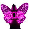 LED Glowing Butterfly Shape Wing Night Light for Decoration - DIMORPHOTHECA MAGENTA