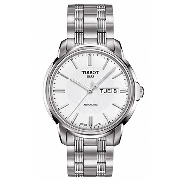 TISSOT Men Business Mechanical Watch with Steel Band