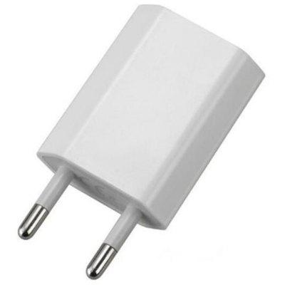 European USB Power Adapter EU Plug Wall Travel Charger for Samsung ( S5 S6 S7 S8 S9 ) / iPhone ( 5s 6 6p 7 7P 8 8P X )