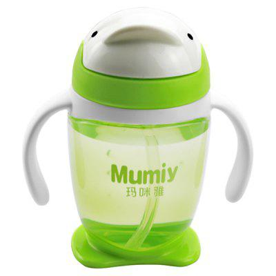 MUMIY 6004 Handle PP Penguin Shape Drinking Cup 300ml