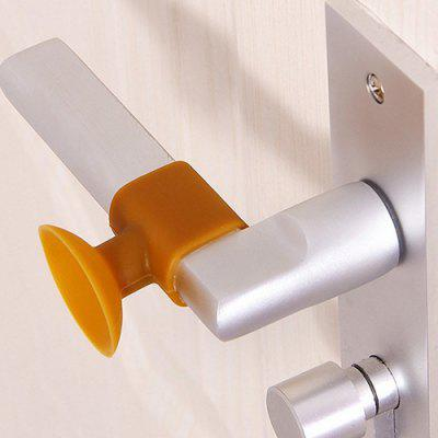 Creative Door Handle Silencer Suction Protective Pad