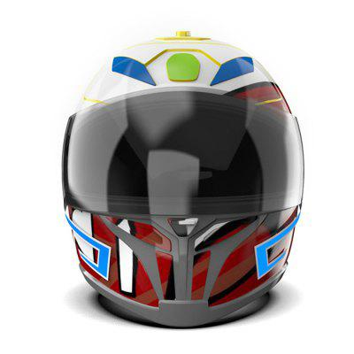 Safe Durable Motorcycle Helmet Light Strip