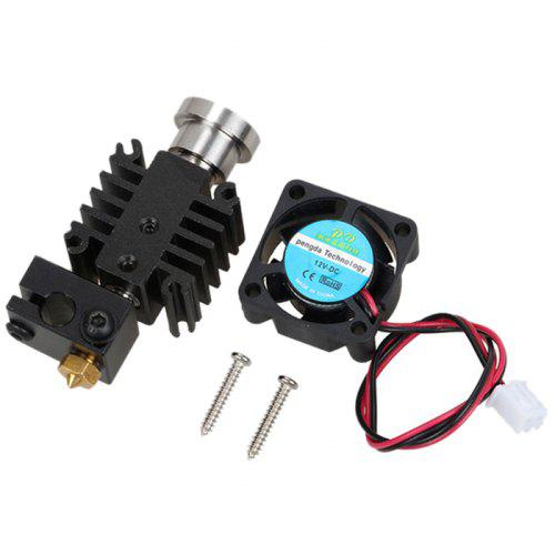 Short-distance Integrated Metal Universal Extruder Hotend Kit for 3D Printer