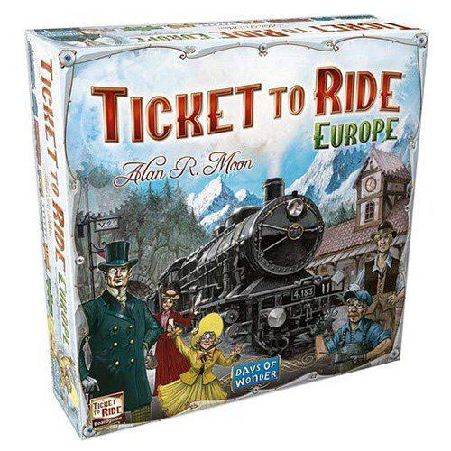 Ticket to Ride European / US Edition Board Games