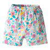 Girls Cartoon Fairy Short-sleeved Shorts Suit Cotton Two-piece - MULTI-A