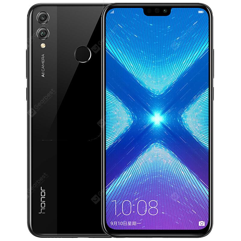 HUAWEI Honor 8X 4GB RAM 4G Phablet International Version - Black