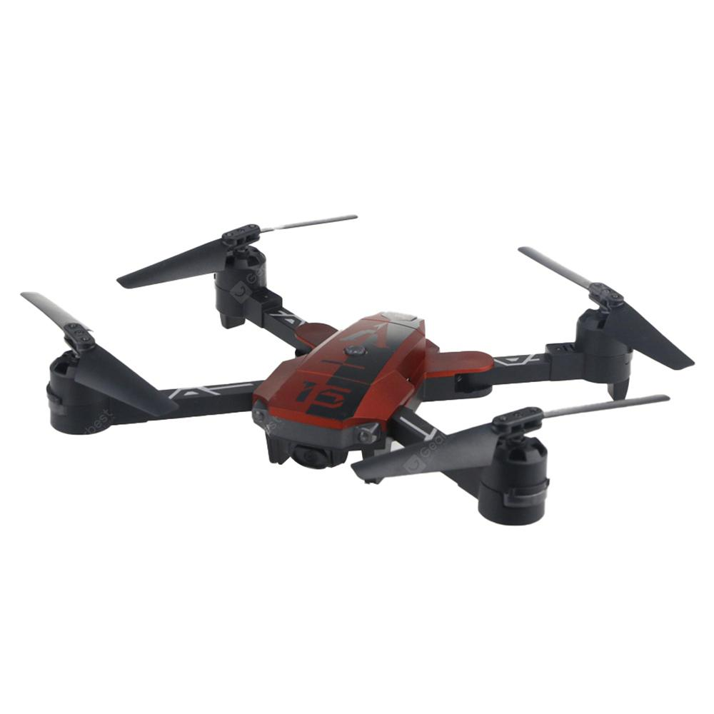A15HW 2.4G Folding Pocket Type Four-axis Aircraft - Red A15HW 720P WiFi camera + air pressure fixed