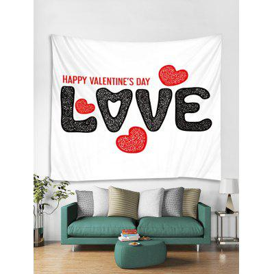Valentine Love Heart Tapestry Art Decoration