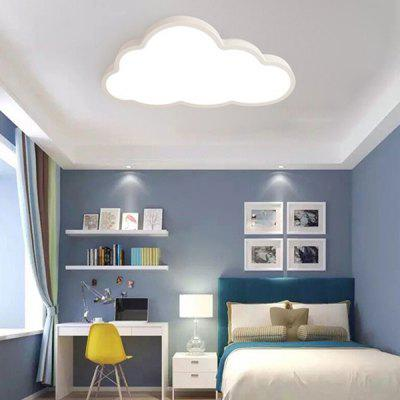 Ultra-thin Cartoon Cloud Children's Room Ceiling Lamp