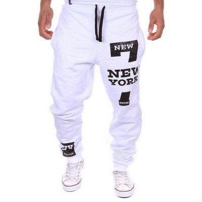 SYWT 312 Men  's Sweatpants Fashion Letter Print Design