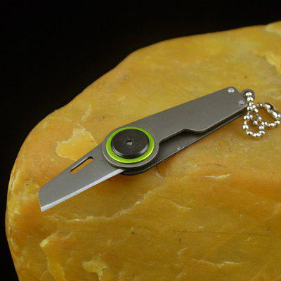 Exquisite Gift Gold Button Mini Knife