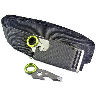 Small Buckle Outdoor Multifunctional Gadget Portable Safety Knife Belt