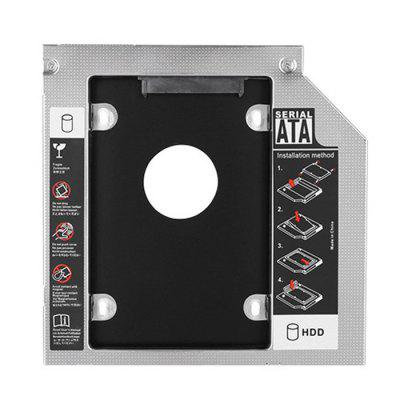 All-aluminio Notebook Optical Drive Bit Hard Drive Bay Universal SSD Solid State Drive Bracket
