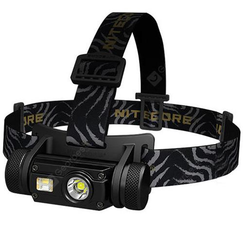 Nitecore HC65 Portable 1000lm LED Headlamp with 18650 Battery – Black 23Sep